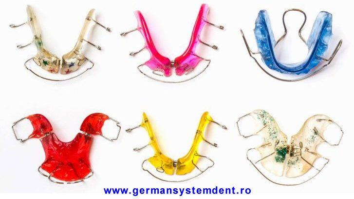 Stomatologie Bucuresti; aparat dentar mobil la German Szstem Dent