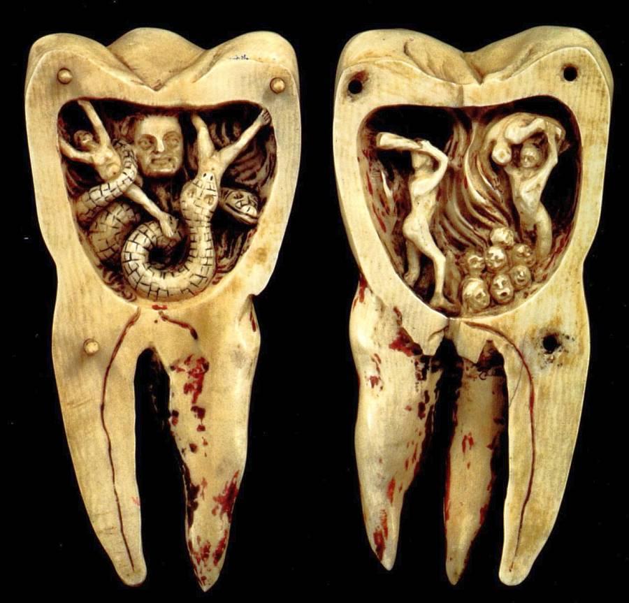 Viermi de dinți, Meniu de navigare