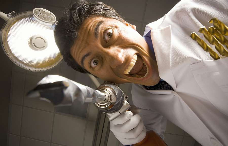 frica de dentist; odontofobia