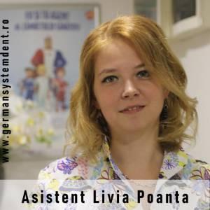 asistenta medicala Livia Poanta